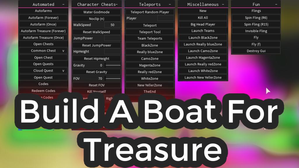Build A Boat For Treasure