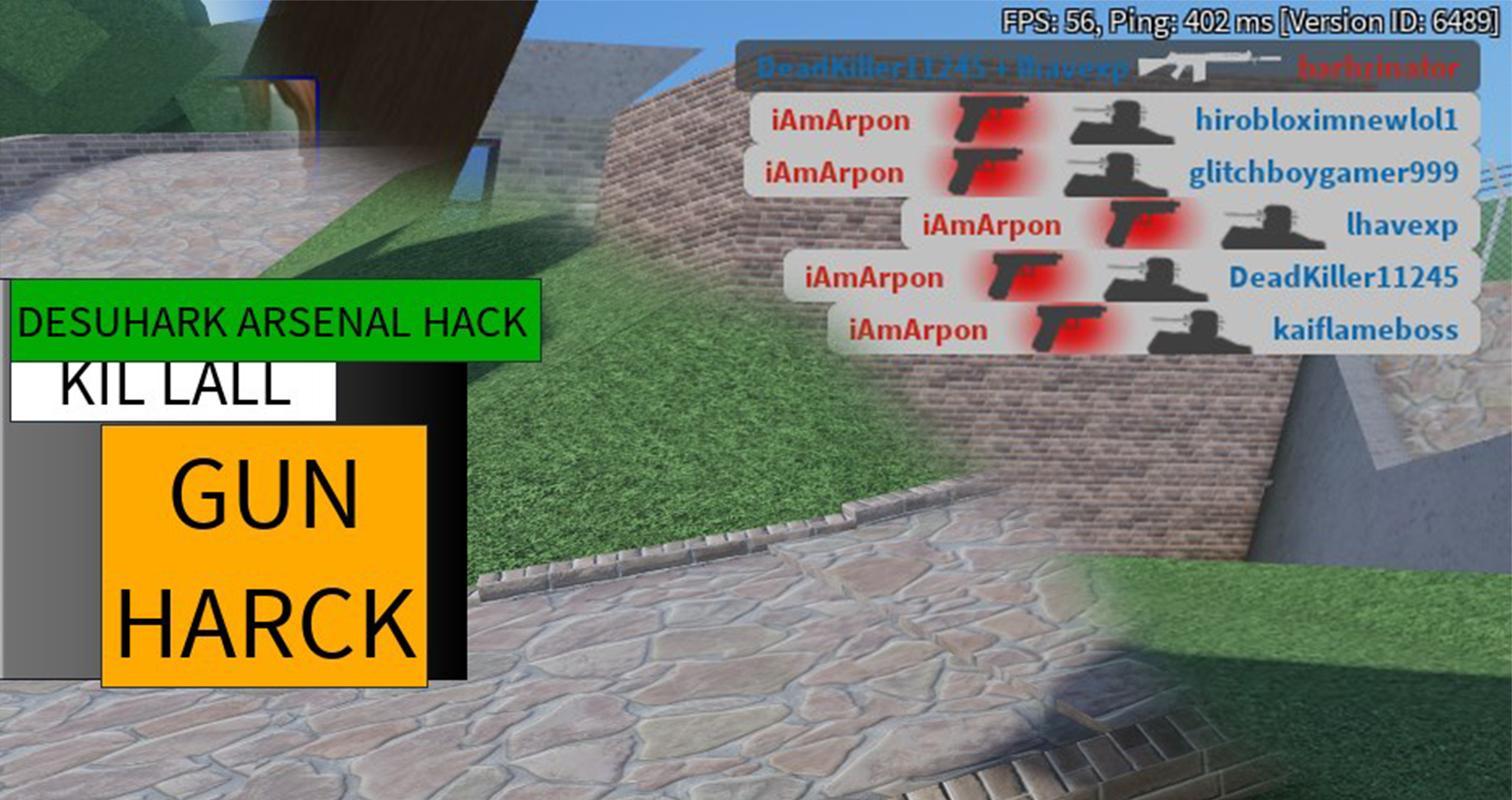 Roblox Hack Script Arsenal Arsenal Desuhark Kill All Gun Hack Best Roblox Exploit Scripts