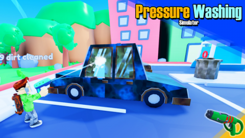 Pressure Wash Simulator