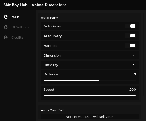 Anime Dimensions